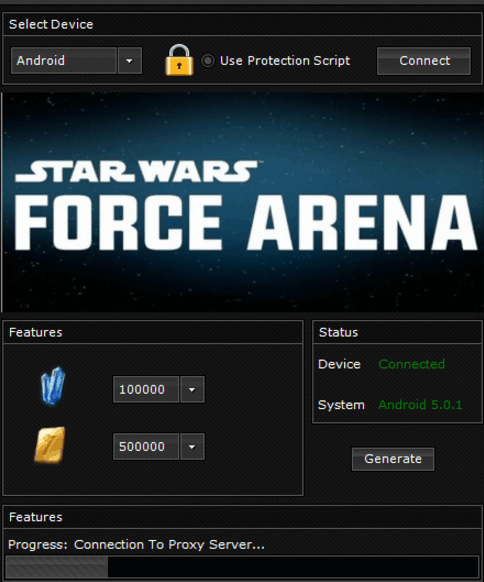 Star Wars Force Arena Mobile Hack, Star Wars Force Arena Mobile Cheats