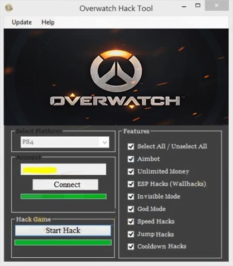 OverWatch Hack Aim