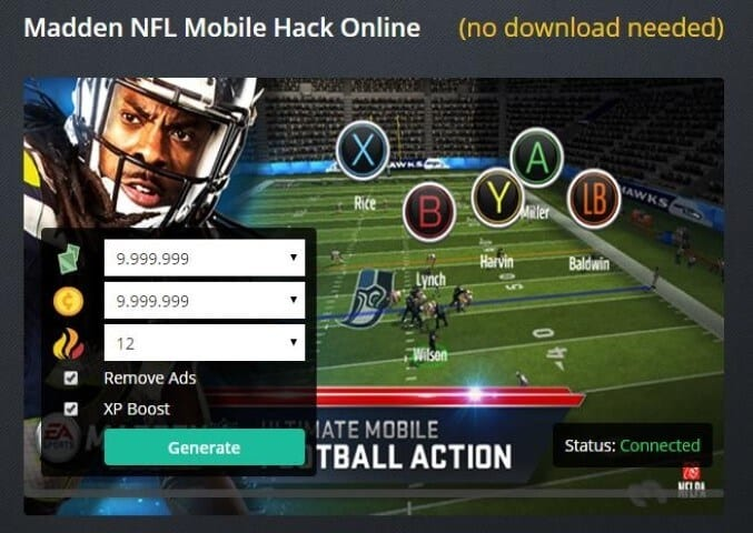 Madden Mobile Hack, Madden Mobile Hack Coins, Madden Mobile Hack 2017